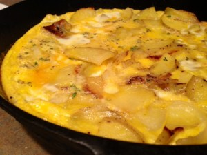 Traditional Spanish Tortilla done
