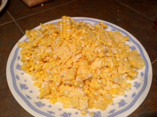 pasta with fresh sweet corn pesto corn sliced2
