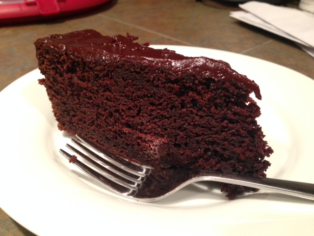 Chocolate Stout Cake with Chocolate Ganache | finding time for cooking blog