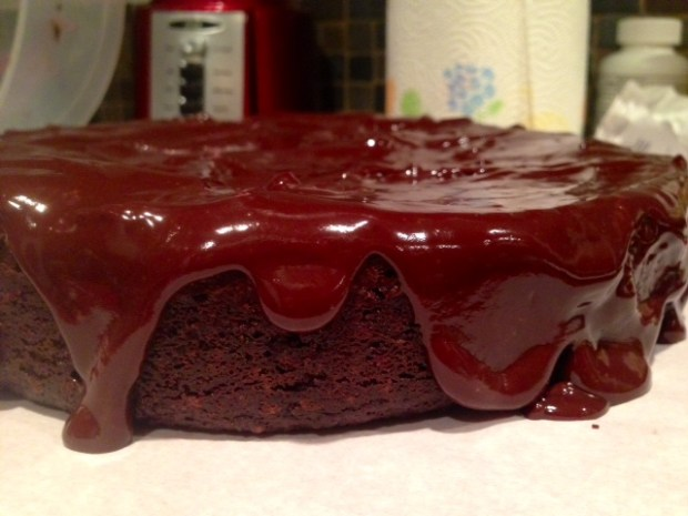 Gluten-Free Chocolate Quinoa Cake with Chocolate Ganache
