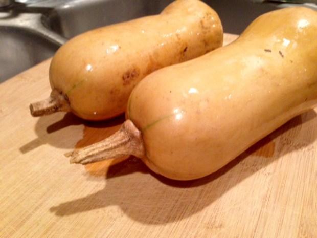 butternut squash leek & parmesan pasta whole squash