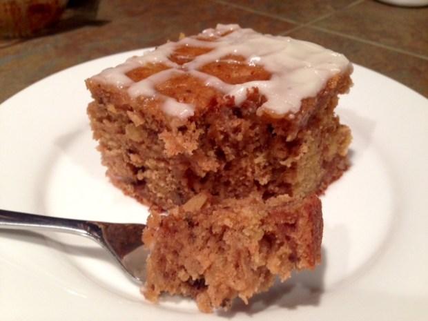 Pear Cake with Honey Glaze 2