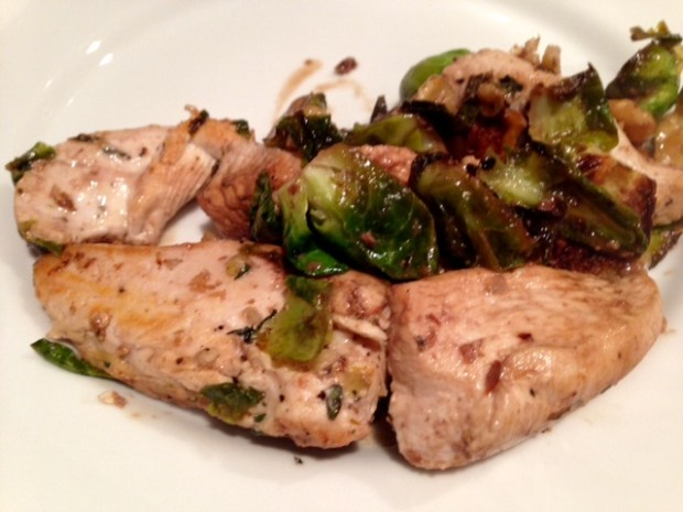 Balsamic Chicken & Brussels Sprouts