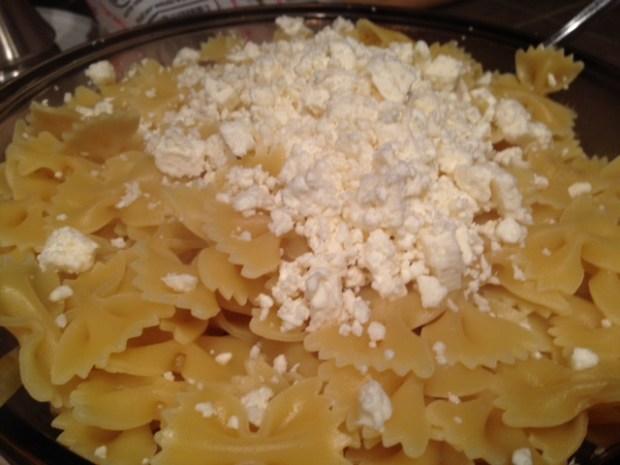pasta with spinach tomato & feta pasta feta