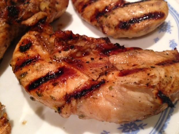 Grilled Honey Balsamic Chicken