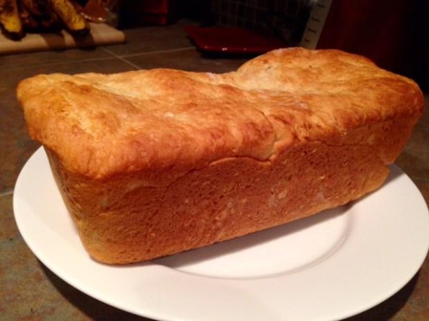 cinnamon swirl bread loaf baked