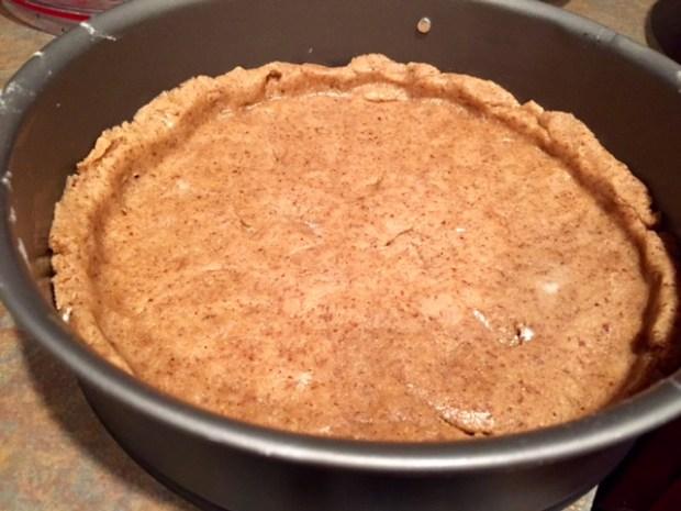 apricot linzer torte dough tart shell