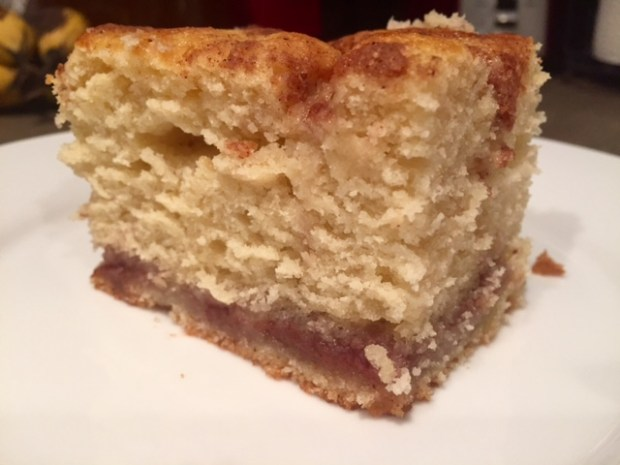 Jam Streusel Coffee Cake slice