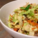"""Crack"" Beef & Cabbage Stir Fry"
