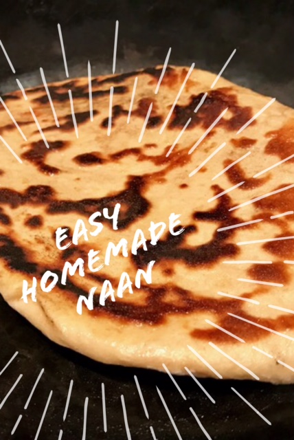 Easy homemade naan bread...fast, yummy, adaptable | FindingTimeForCooking