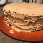 Dark Chocolate Stout Cake with Peanut Butter Frosting + Happy Birthday to Me!