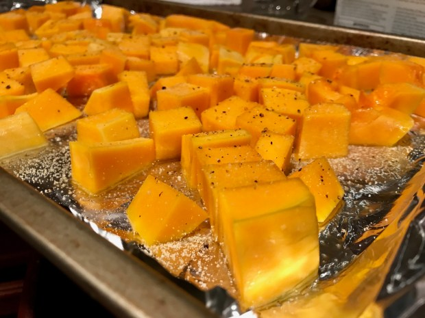 how to cut up butternut squash youtube