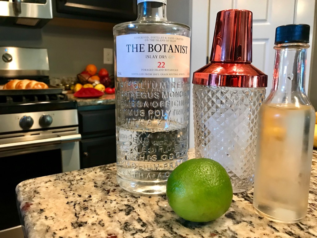 Fizzy Rosemary Gimlet (Gin Cocktail)   finding time for cooking blog