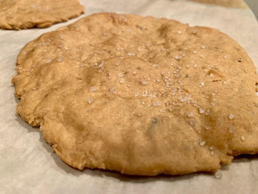 Simple rosemary unleavened bread recipe