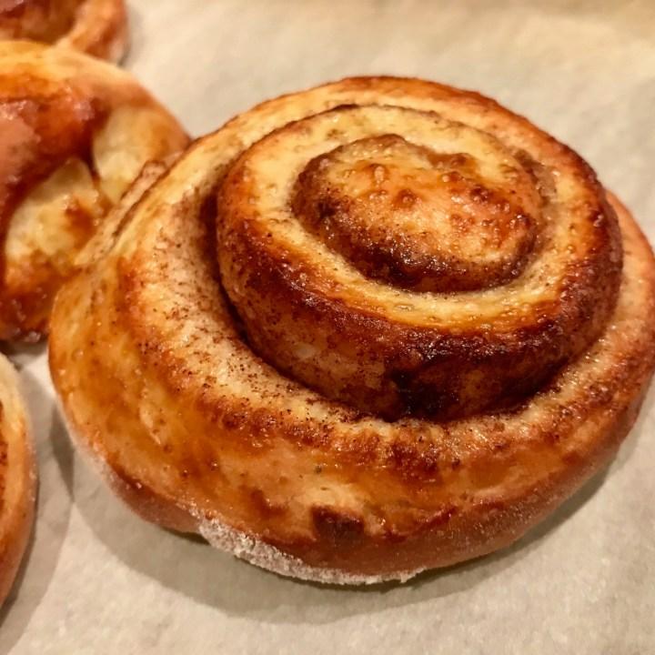 Norwegian Skillingsboller (Cinnamon Bun Pastries)