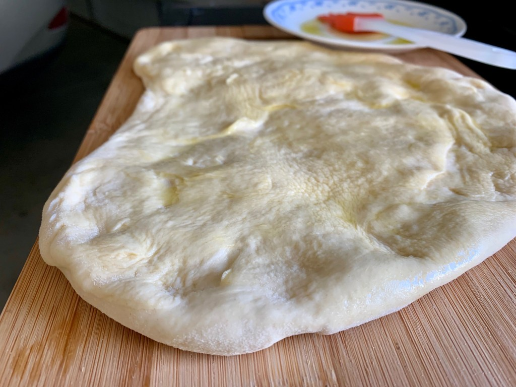 The best grilled pizza dough recipe