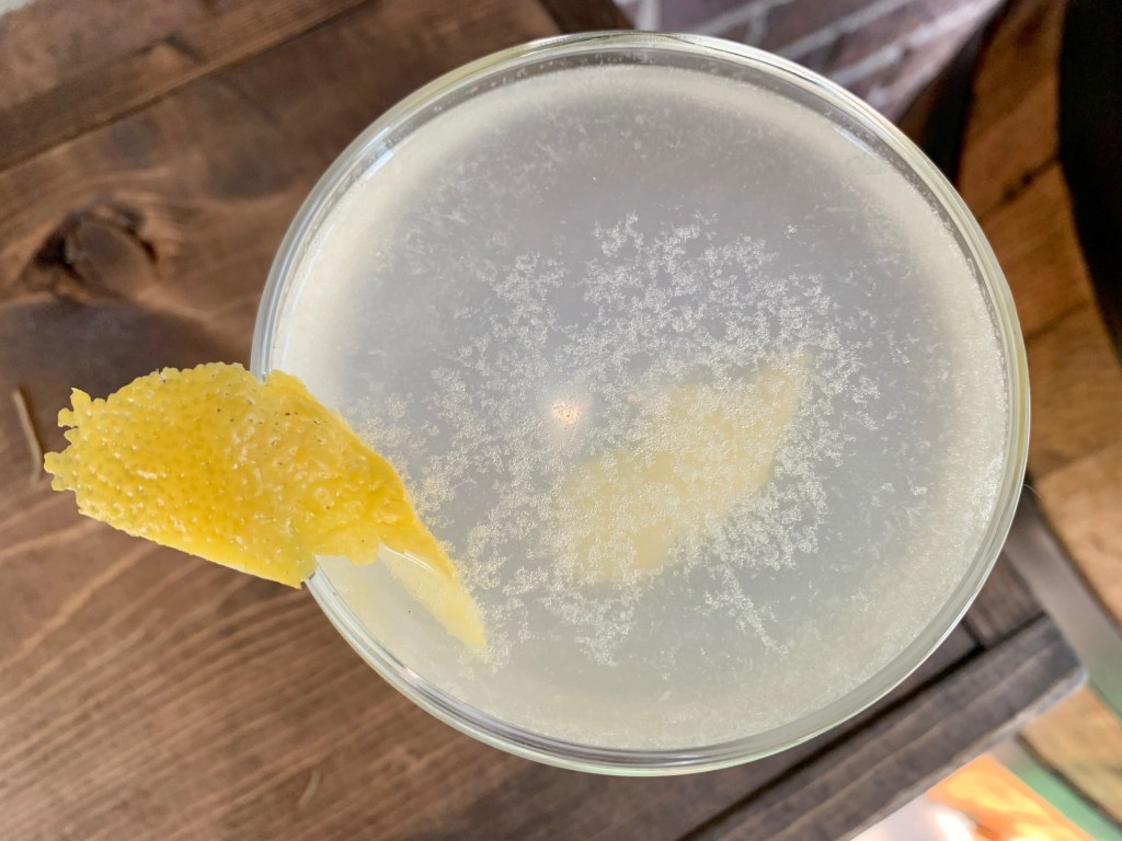 """A Classic Gin """"Army & Navy"""" Cocktail 