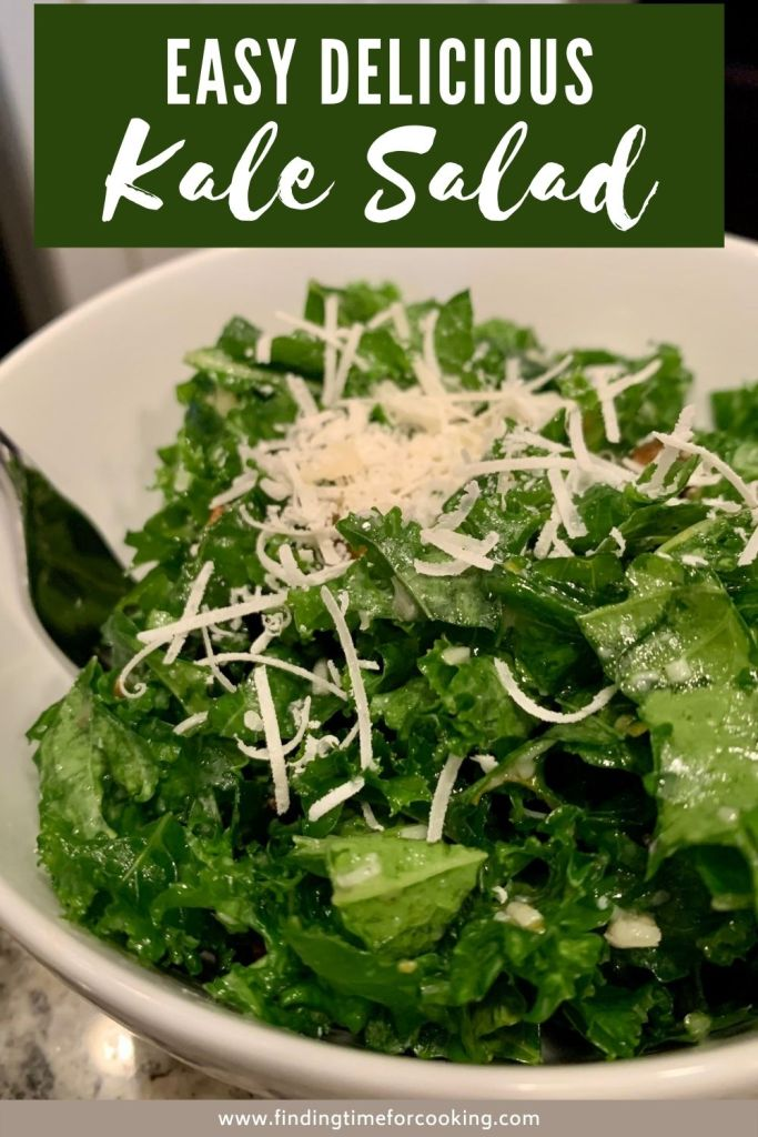 The Best Easy Kale Salad | This basic kale salad is super delicious, healthy, and only takes a few minutes to make. You can use either curly or lacinato kale, and the other ingredients are flexible based on what you have (pistachios, parmesan, lemon zest, and golden raisins). The light lemon dressing gives it a bright flavor. This is the perfect side dish for any meal, an easy side dish for weeknights in particular. #kale #salad #sidedish #healthyrecipes