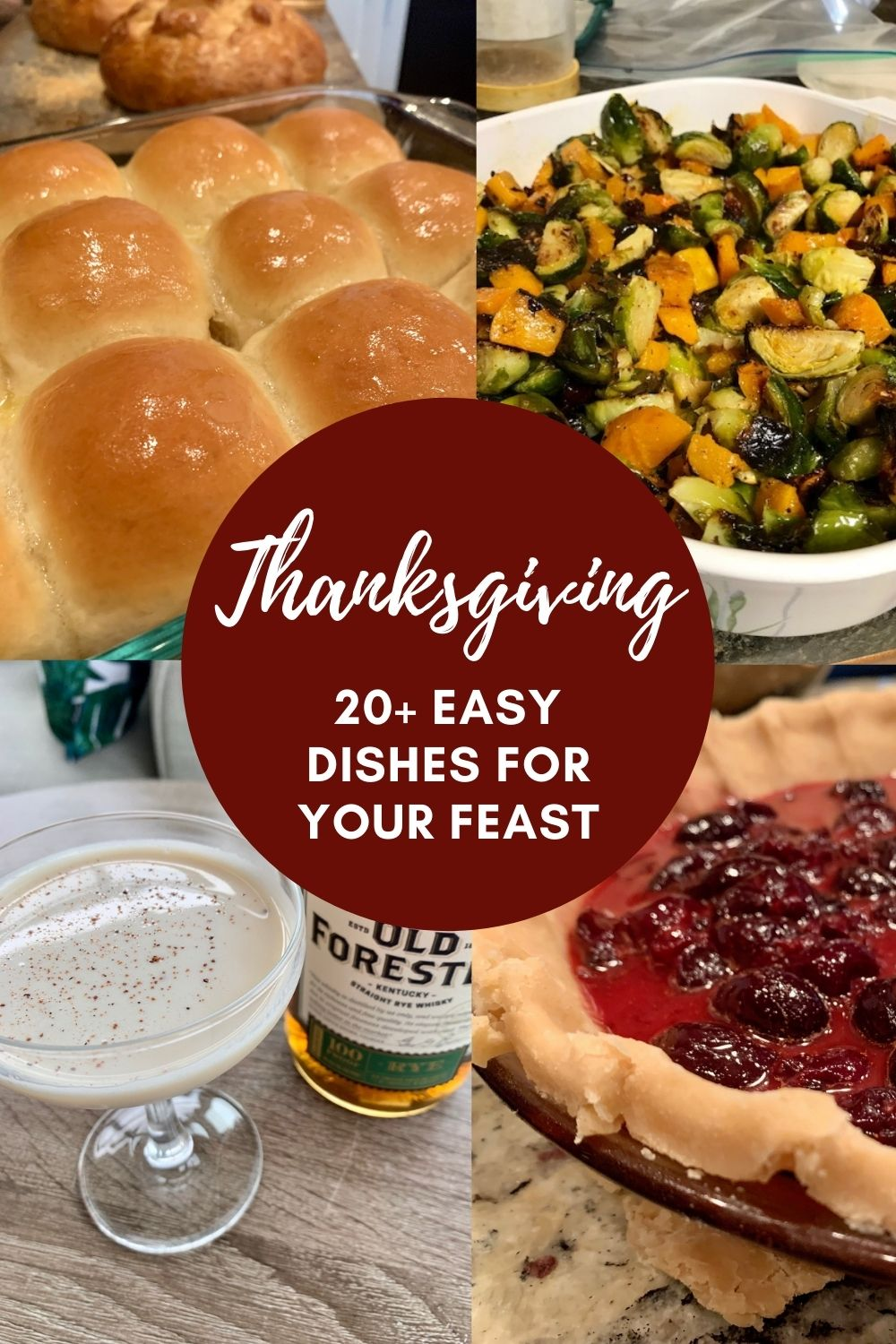 20+ of the Best Thanksgiving Recipes | These are my family's tried and true dishes, and great easy Thanksgiving recipes for your own feast if you're looking for ideas. From Thanksgiving side dishes to desserts, breads, and even cocktails, I've got you covered. The best holiday recipes for any size of gathering. #thanksgiving #bestthanksgiving #holidayrecipes