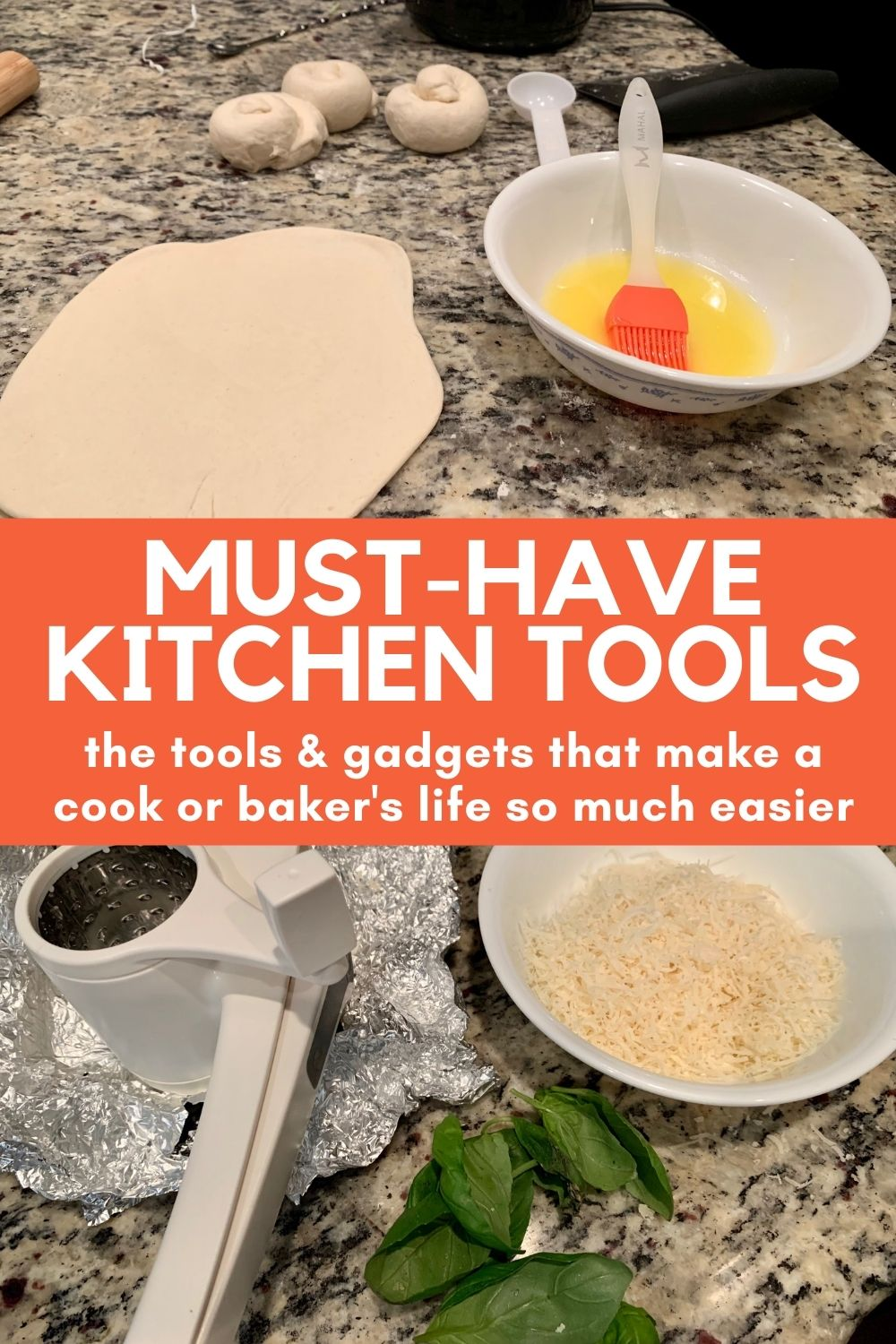 The Best Kitchen Gadgets & Tools for Every Cook or Baker | Having the right tools makes such a difference! These are must-have kitchen items that make things easier, faster, and better...from quality baking tools, to gadgets like a hand mill grater for cheese, immersion blender, and so much more | finding time for cooking #kitchengadgets #musthave #kitchentools