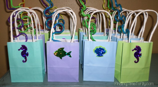 Mermaid Under The Sea Gift Bags