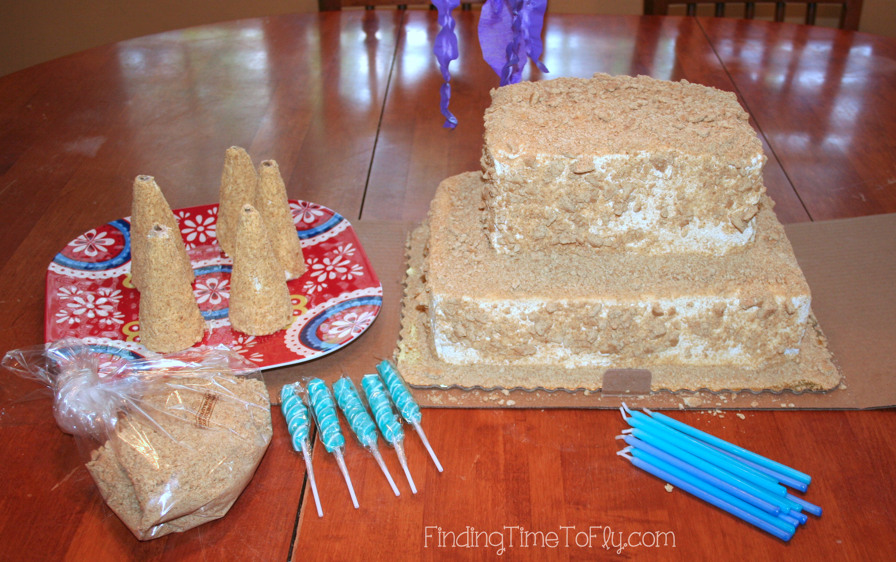 Sandcastle Cake You Will Need