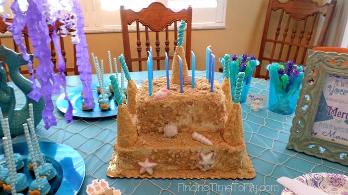 Sandcastle-Cake-on-Table