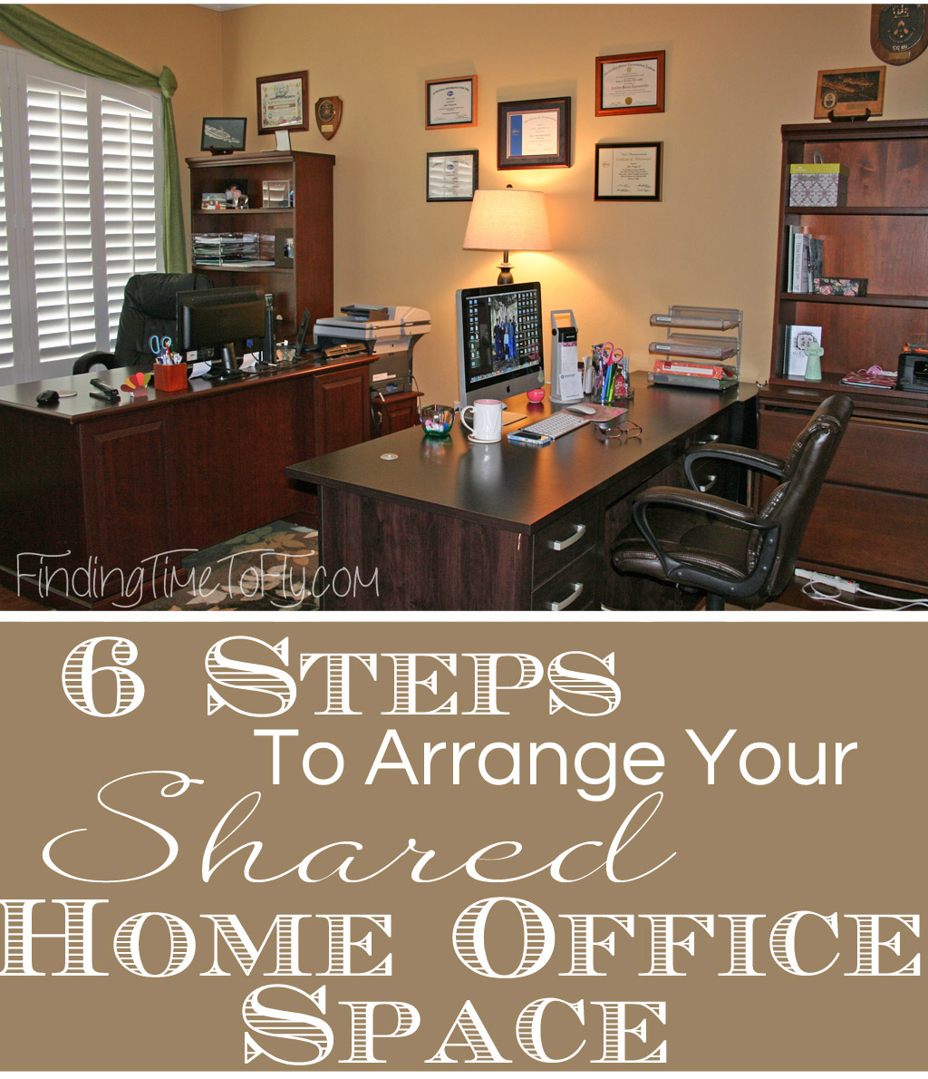Follow these 6 simple steps and learn how to turn your shared home office space into an office you both love.