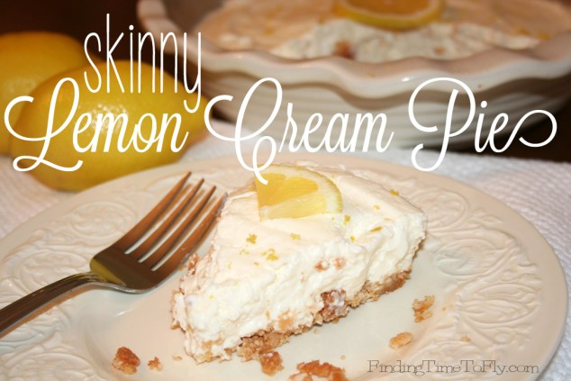Skinny Lemon Cream Pie