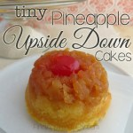 Tiny Pineapple Upside Down Cakes