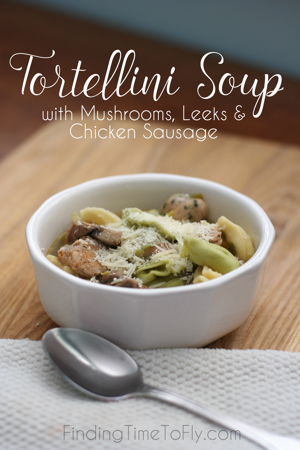 You can have this Tortellini Soup on the table in just 30 minutes!