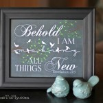 Free Printable Bible Verse for Spring – All Things New