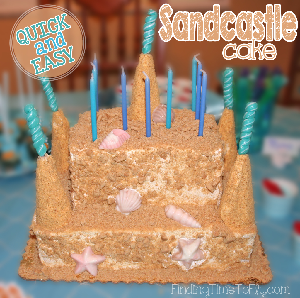Sandcastle Cake with pics and instructions.