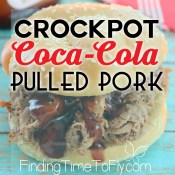 Super easy to make Crockpot Coca-Cola Pulled Pork.