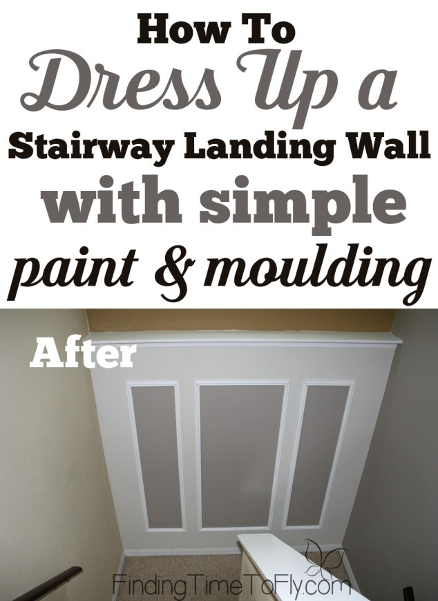 How To Decorate A Stairway Landing Wall