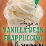Vanilla Bean Frappuccino (like Starbucks)