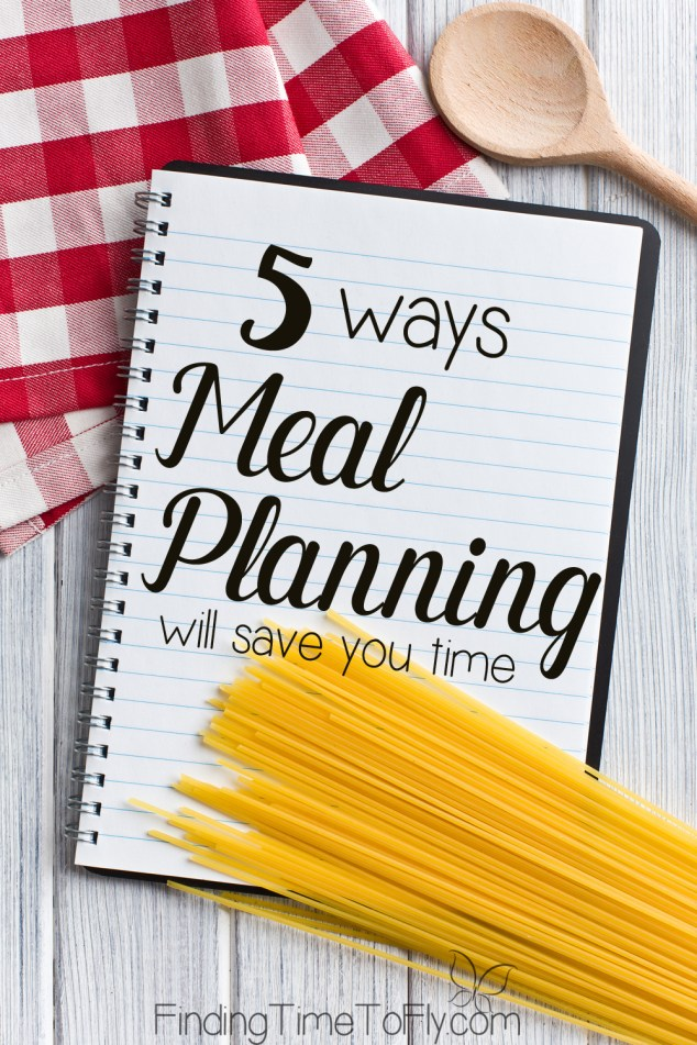 5 Ways Meal Planning Will Save You Time