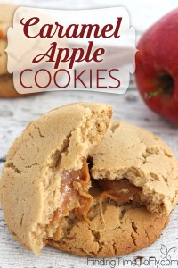 Caramel Apple Cookies remind me of fall. I want to try these!