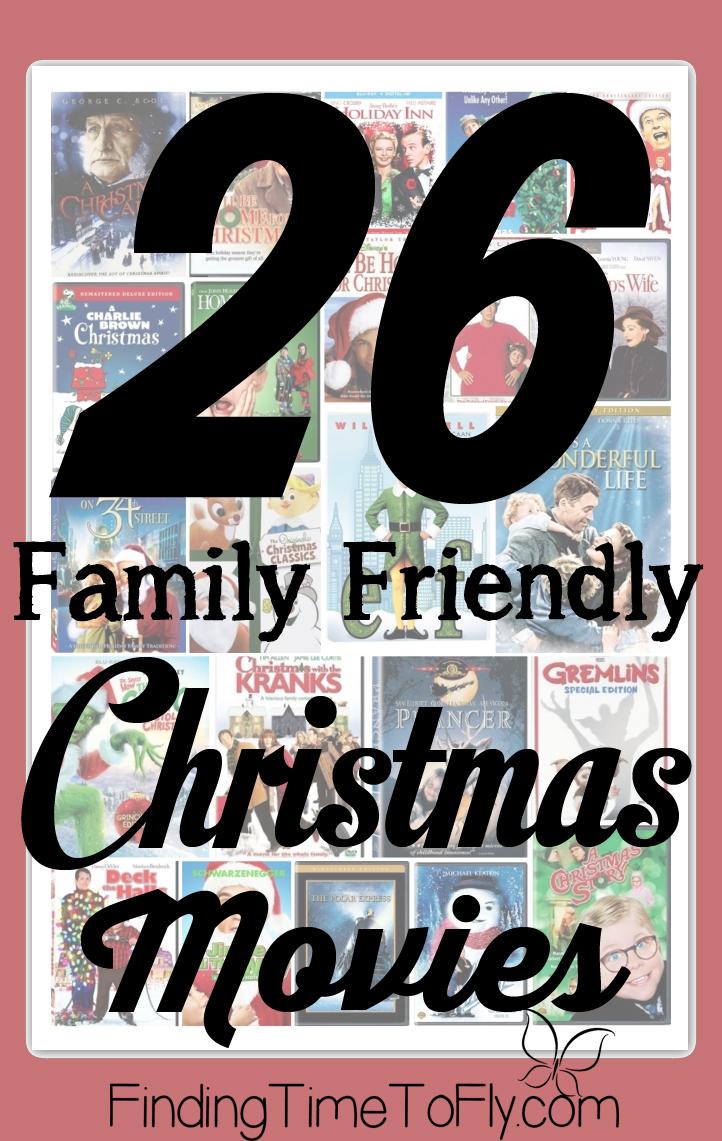 26 Family Friendly Christmas Movies
