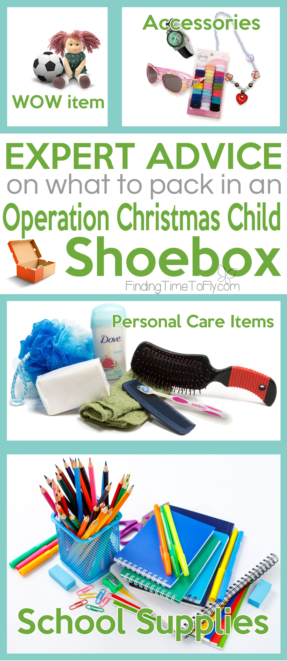Expert field tested advice about what to pack in an Operation Christmas Child Shoebox