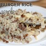 Hamburger Rice Casserole