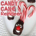 How To Make A Candy Cane Reindeer