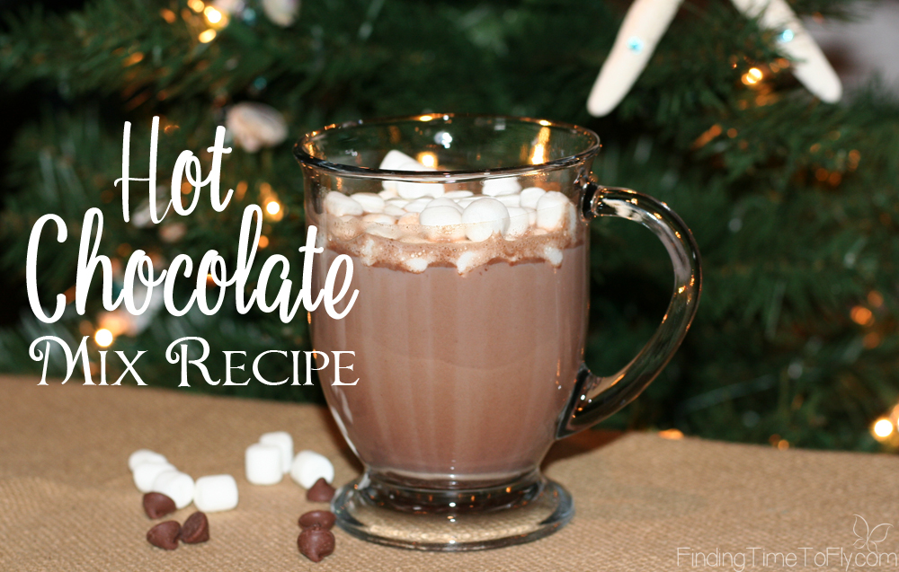 how to make hot chocolate with chocolate chips and water