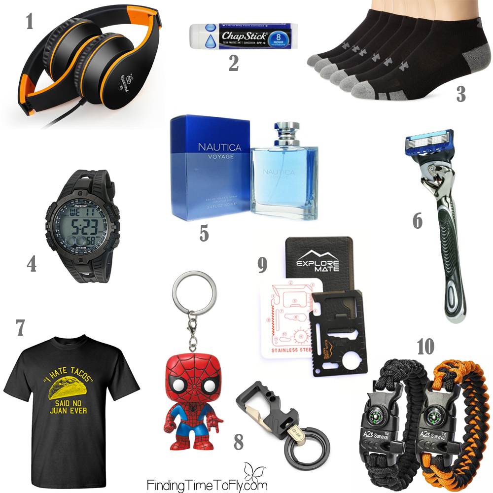Saving this list of Stocking Stuffer Ideas for Teenagers. What a great list for teen boys!