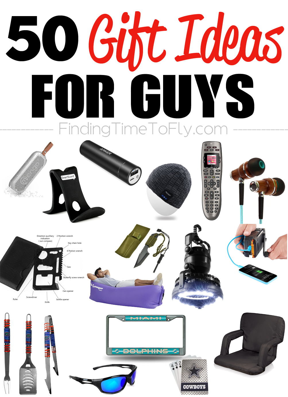50 Gifts for Guys for Every Occasion - Finding Time To Fly