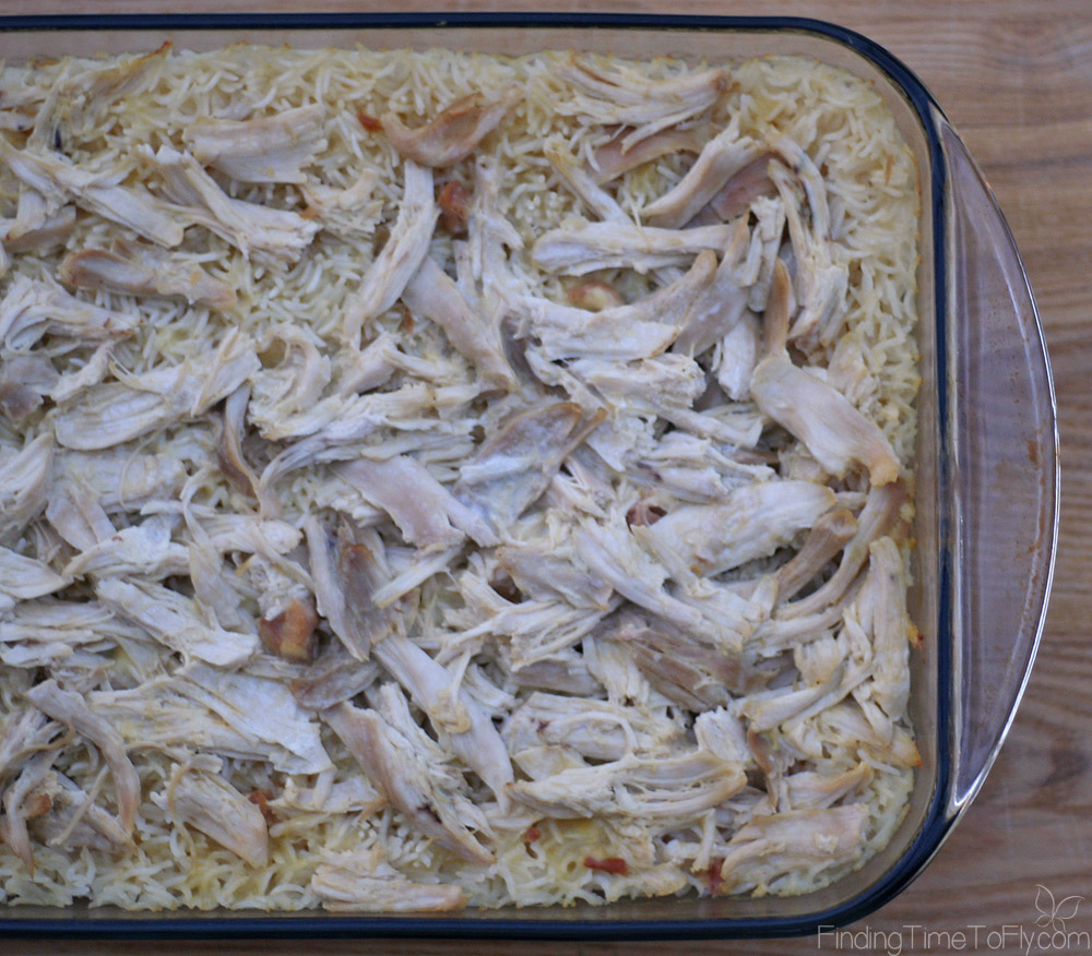 Easiest ever Baked Chicken and Rice is perfect for an easy weeknight dinner, potluck, meal for a sick friend or someone with a new baby.