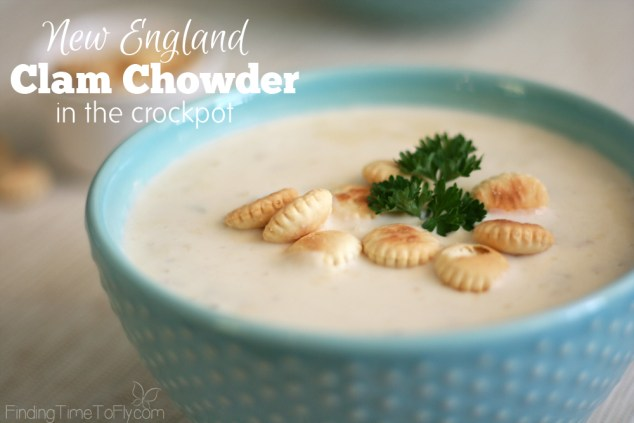 Crockpot New England Clam Chowder