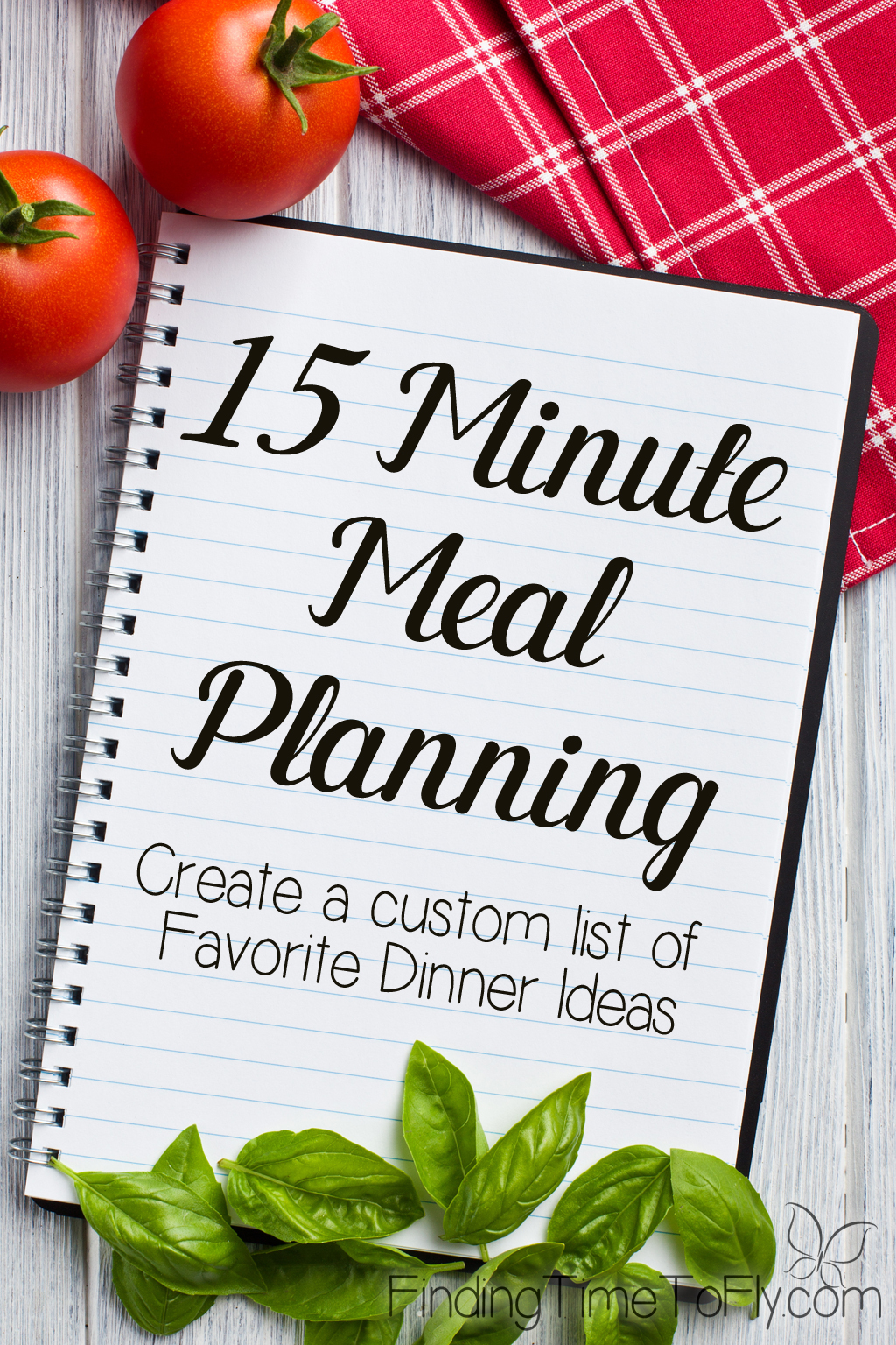 Simplest meal planning system ever! I love the idea of creating a favorite dinner ideas list. Simply brilliant!
