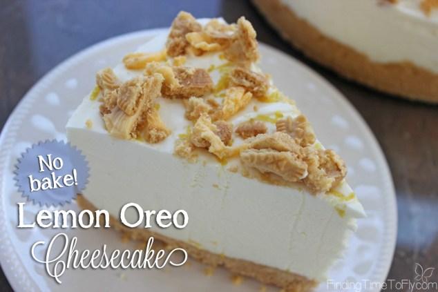 Lemon Oreo Cheesecake