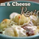 Ham and Cheese Ravioli